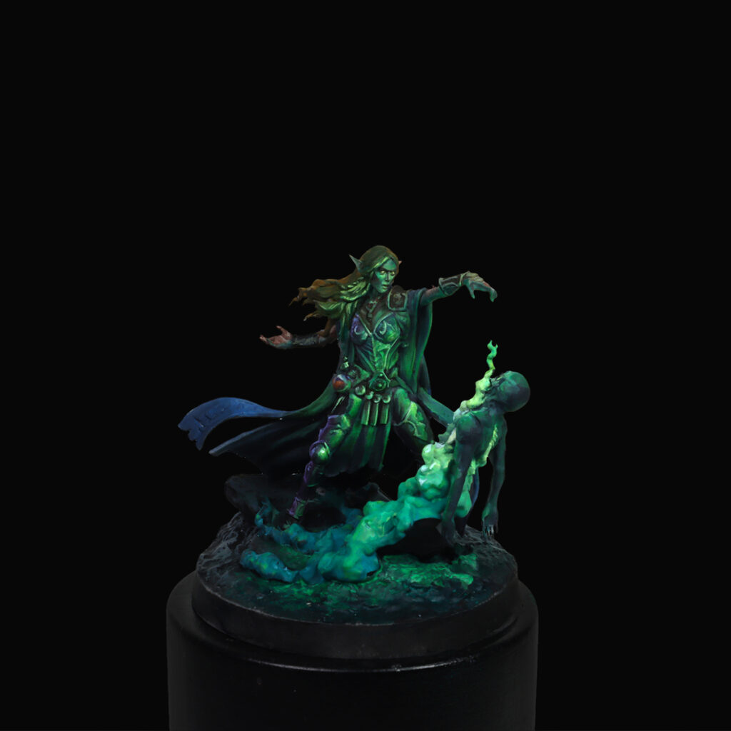 Sayin from Creature Caster Judgment Eternal Champions