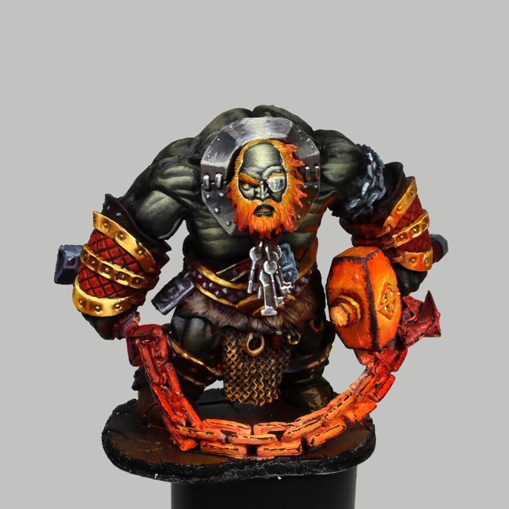 Bluferg Fire Giant Jailor from Reaper Miniatures