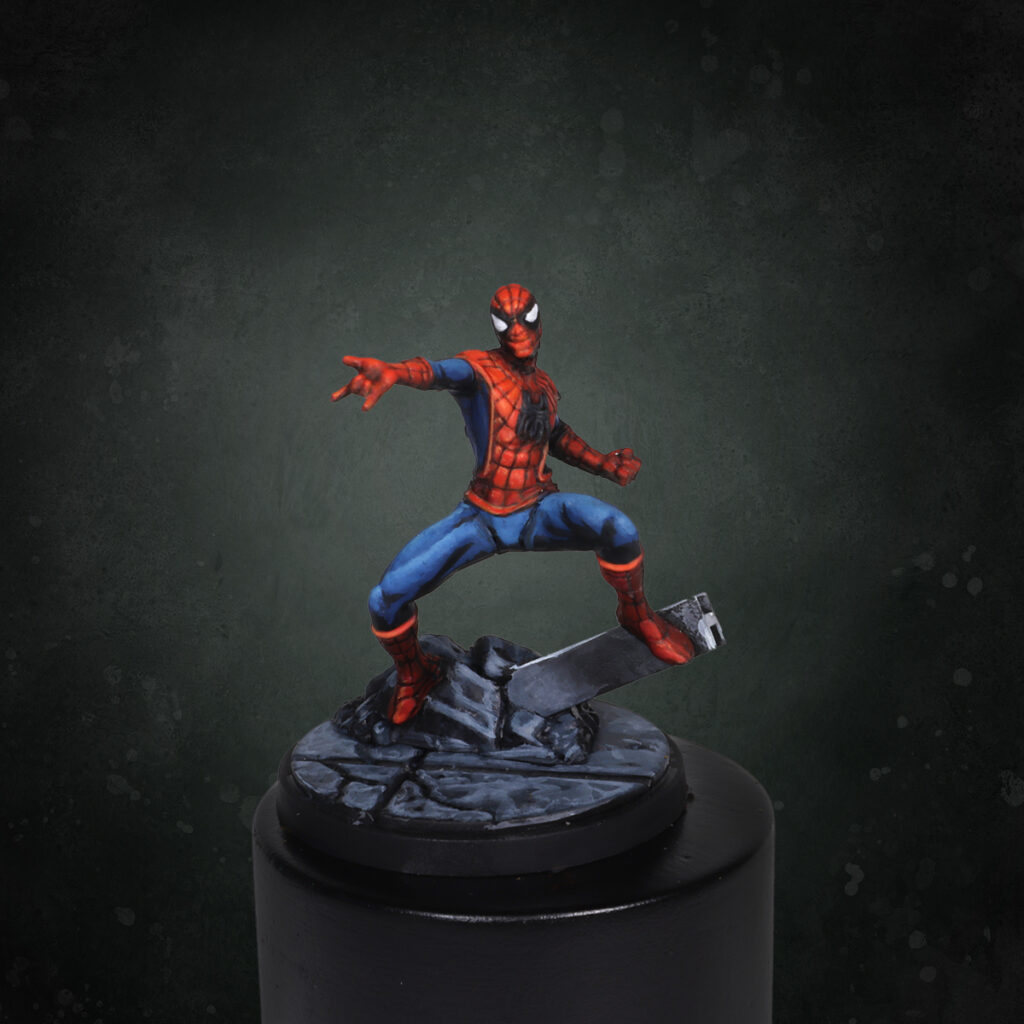 Spider Man from Marvel Crisis Protocol