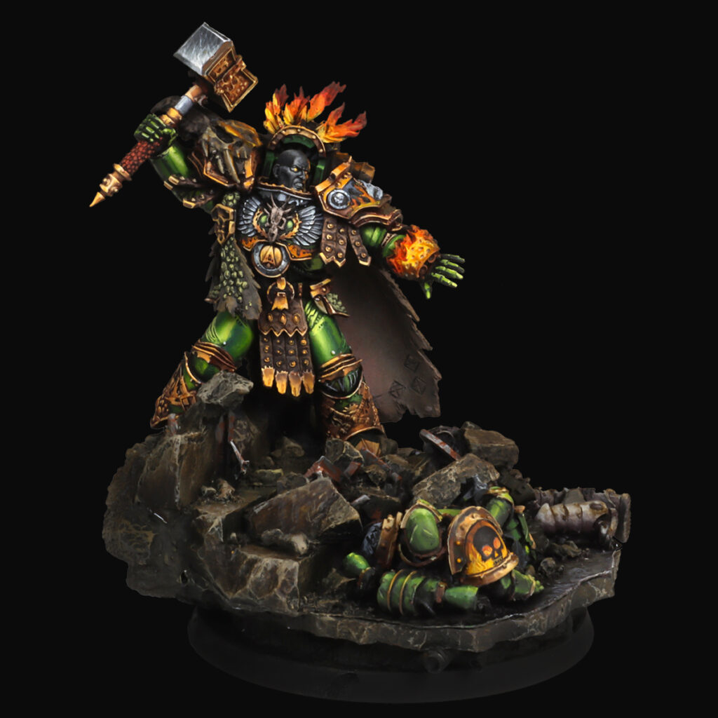 Vulkan, Primarch of the Salamanders From Forge World
