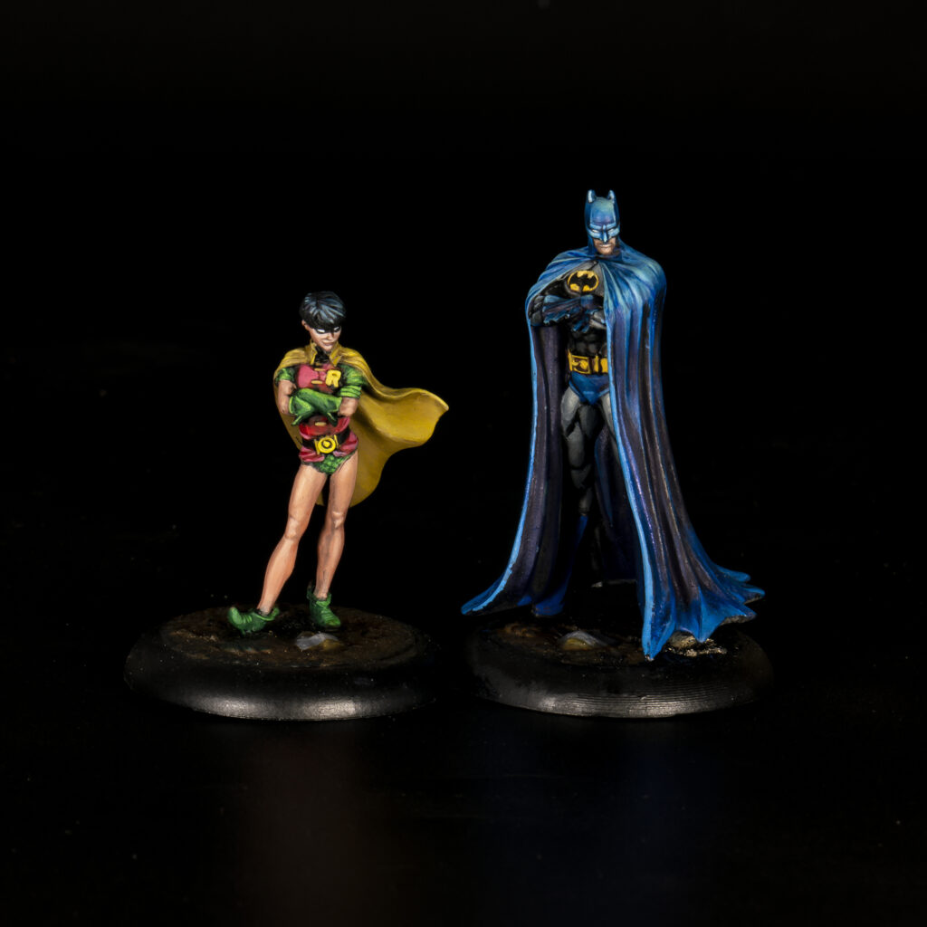 The Dynamic Duo aka Batman and Robin from Knight Models